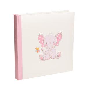 Lapsialbumi, jossa on norsu kannessa